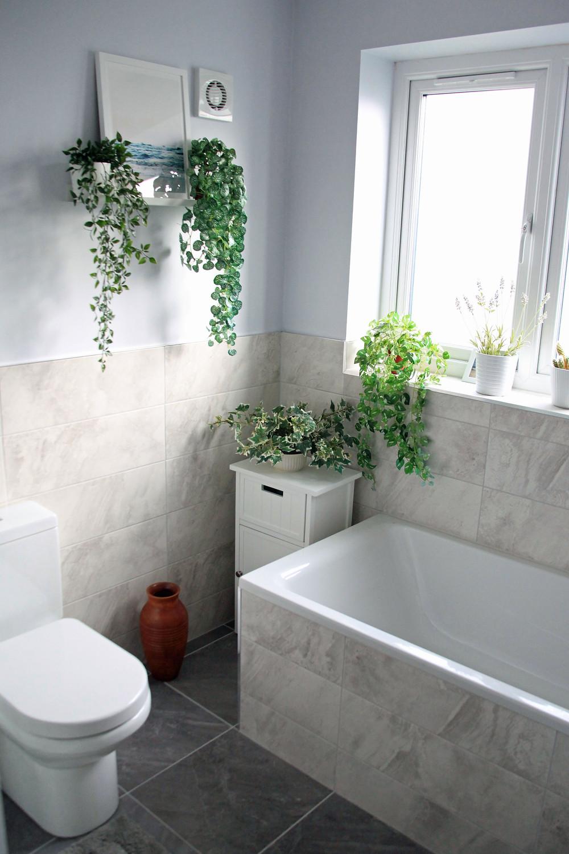 Redesigned Bathroom - Fresh Start Living
