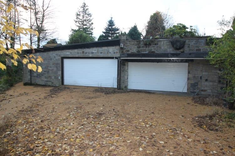 Garage Before Redevelopment - Fresh Start Living
