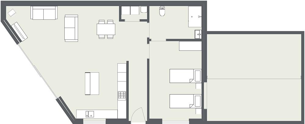 Garage Floorplan - Fresh Start Living