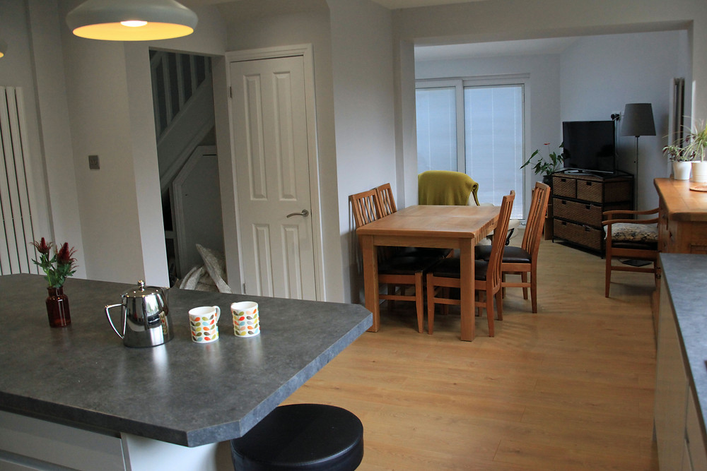 Redesigned Kitchen Diner - Fresh Start Living