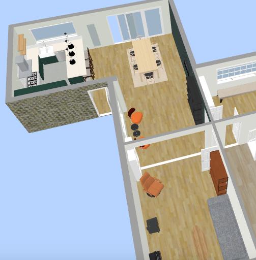 Interior Design Floor Plan 4 - Fresh Start Living