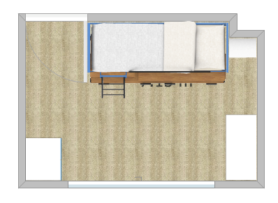 Bedroom Floorplan - Fresh Start Living
