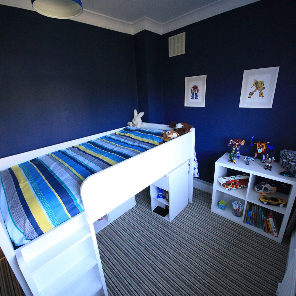 Finished Bedroom Space - Fresh Start Living