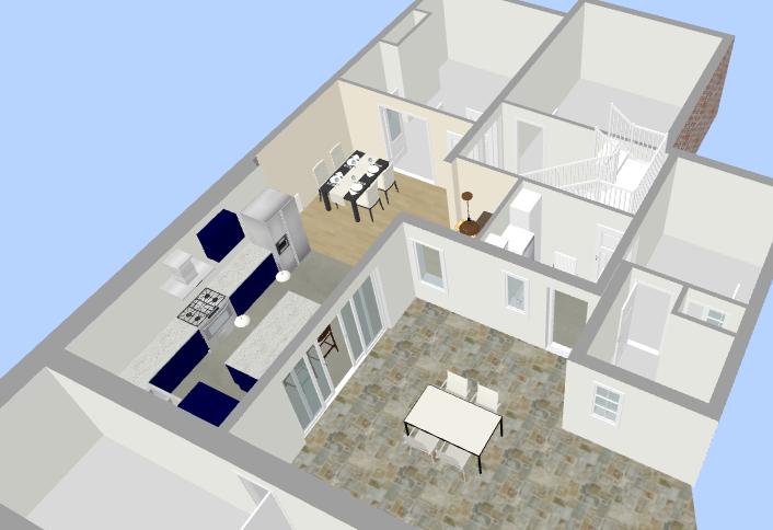 Interior Design Floor Plan 2 - Fresh Start Living