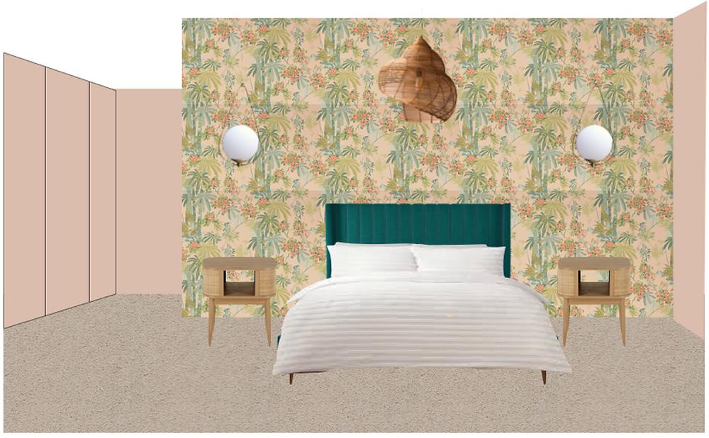 Bedroom Drawn Design 2 - Fresh Start Living