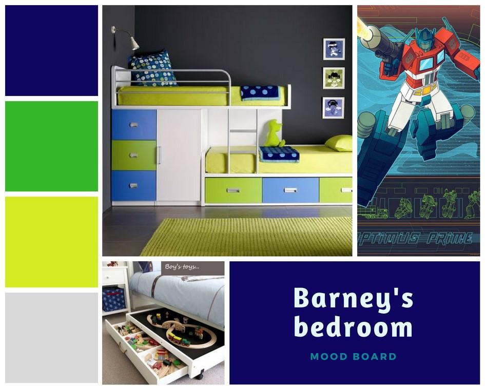 Barney's Bedroom - Fresh Start Living