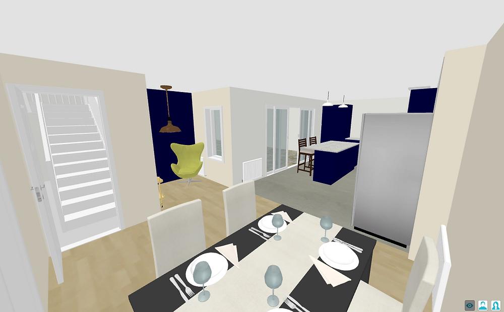 3D Diner Layout - Fresh Start Living