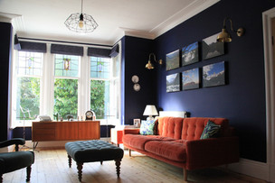 Interior Design Project - A grown-up living room