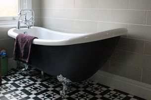 Having a coloured bath without the crazy price tag