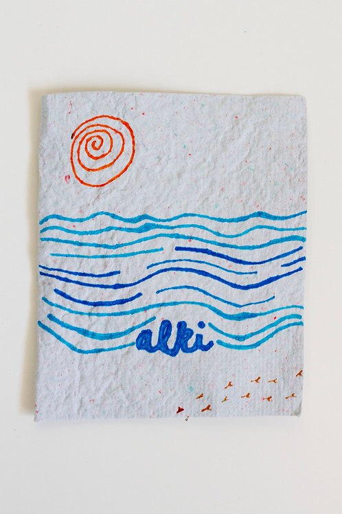 Alki Folded Card