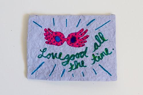 Lovegood All The Time Folded Card