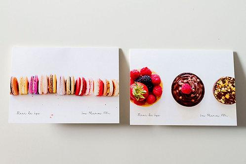 4.5 x 5.5 Los Alamos Local Dessert Folded Cards