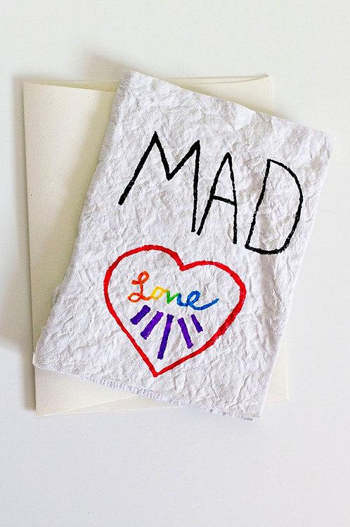 Mad Love Folded Card