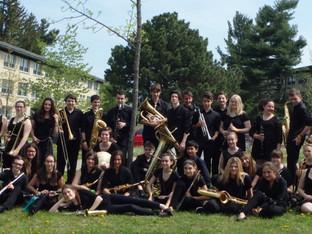 La PST au Festival des harmonies - des musiciens en OR