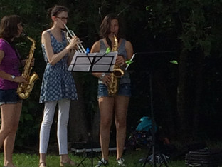 Les jeunes musiciens de la PST au cœur des événements