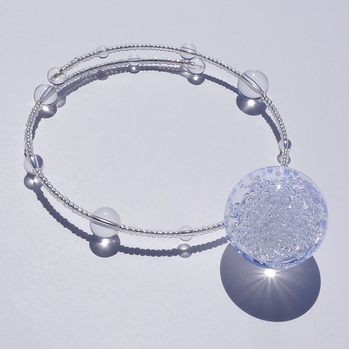 NECKLACE・CLEAR BALL