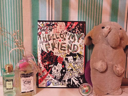 不吉霊二×MIZUGASHI コラボマガジン 『HELLO! MY FRIEND』