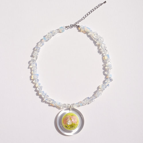 NECKLACE SNOW DOME × STONE 1