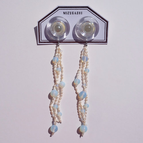 EARRINGS FRESH WATER PEARL 5