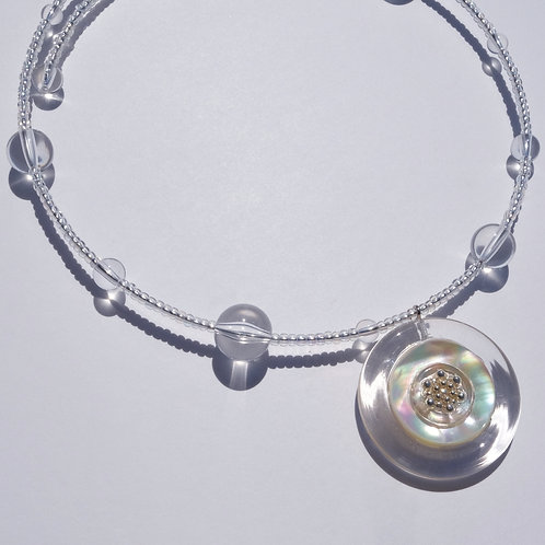 NECKLACE・WHITE SHELL