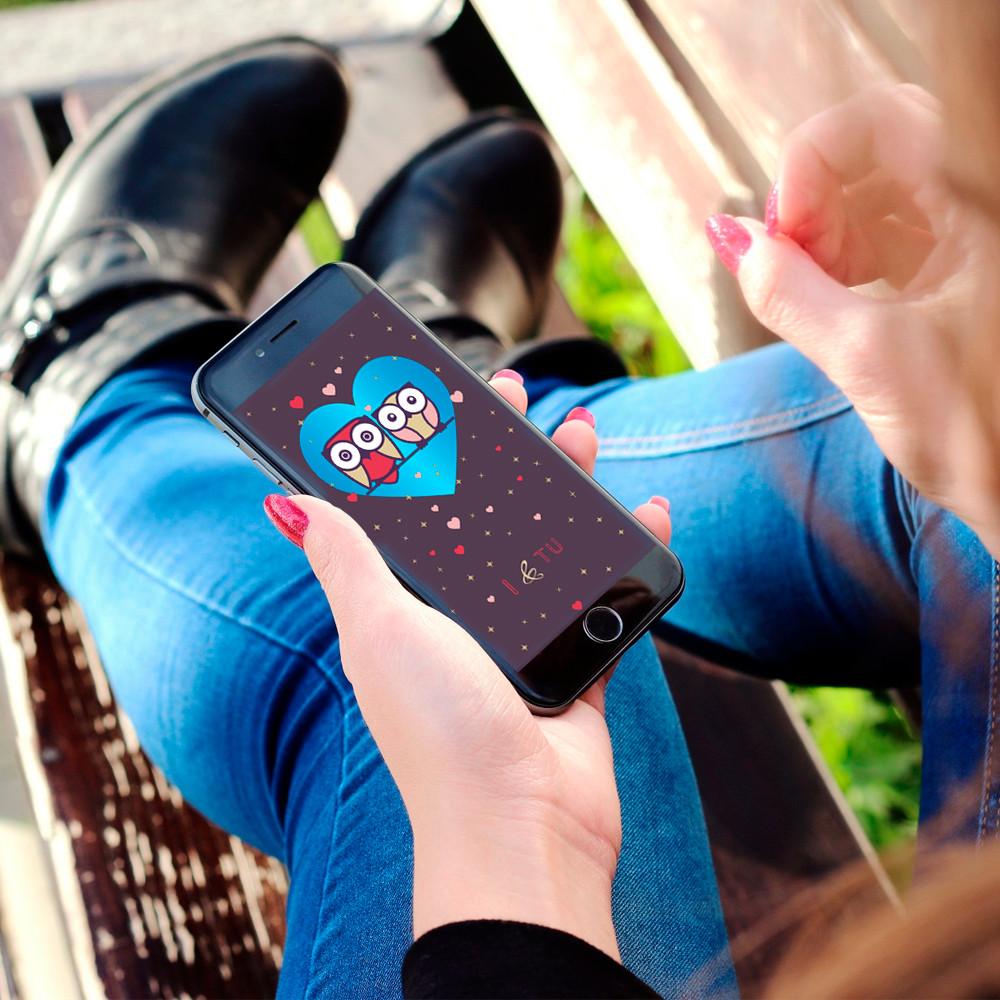 Fundo de tela personalizado para celular