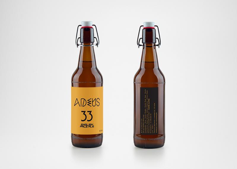 Criação de rótulo para cerveja