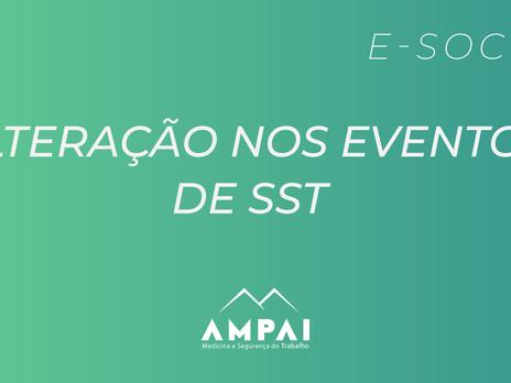 Alterações do eSocial nos Eventos de SST