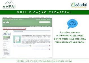 e-Social - Qualificação Cadastral