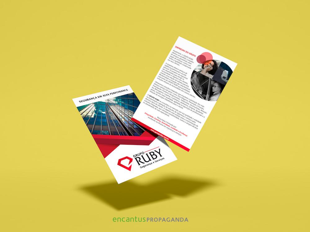 Folder - Folheto - Panfleto