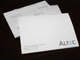 Did You Know Altec Designs and Prints Post-it® Notes?