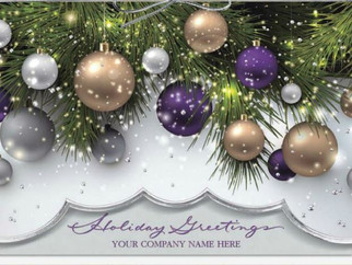 'Tis the Season to Order New Company Holiday Cards & Custom Packaging!
