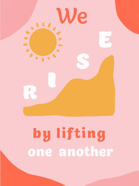 We Rise Print