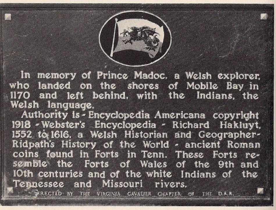 Prince Madoc discovers America