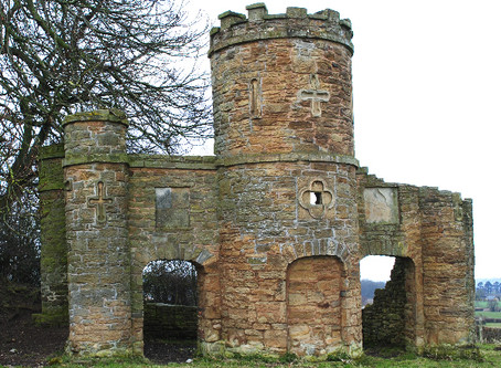 Tŷ Castell - Castle or Cow Shed.