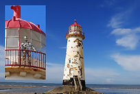 Talacre lighthouse Flintshire