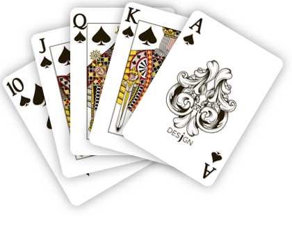 Robert Llwyd Hari's Card Game.