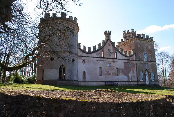Clytha castle, Welsh follies