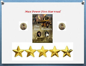 The Iron Masters, Max Power Book Awards, Five Star Read.