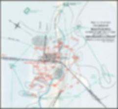 Mafeking Siege Map