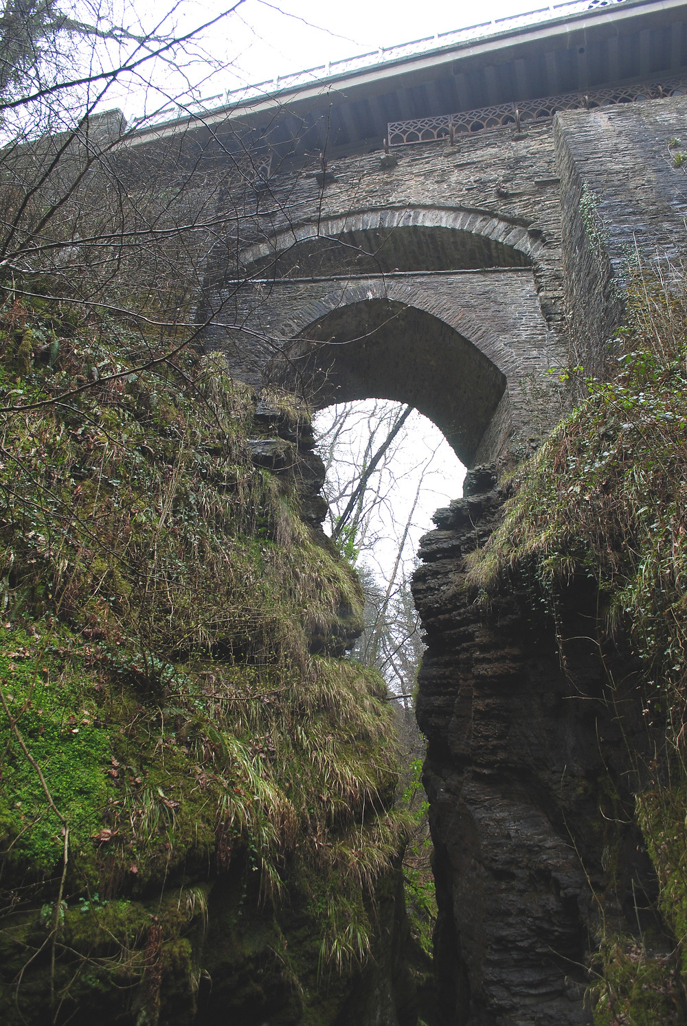 The Devil's Bridge where Marged once  lived.