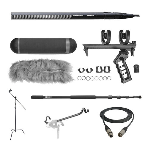 SENNHEISER MKH416 SHOTGUN MIC PACKAGE