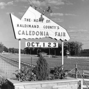 Haldimand County-Shaped Sign