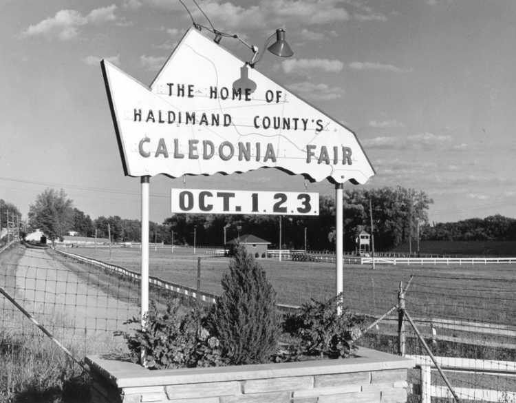 The Haldimand-County Shaped Sign