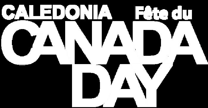 fête du Canada à Caledonia