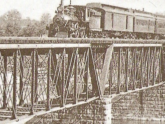 Risky Fun on the Railroad Bridge