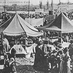 Glimpse of the Caledonia Fair 1800s