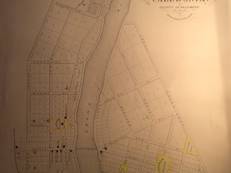 Street names in early settlement days still exist in some cases