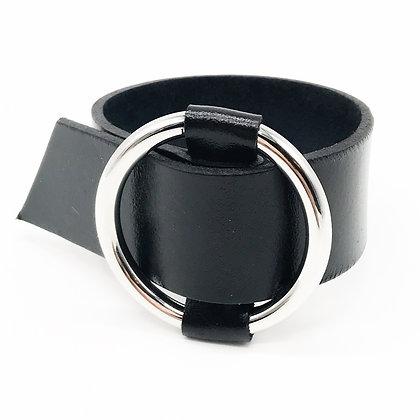 Bracelet manchette noire Accessoire Studio accessoires
