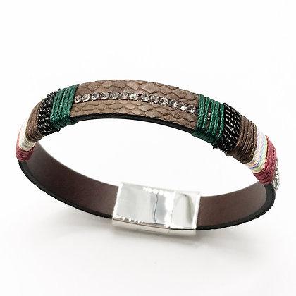 Bracelet marron fantaisie Accessoire Studio accessoires