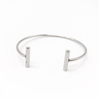 Bracelet jonc argent Accessoire Studio accessoires